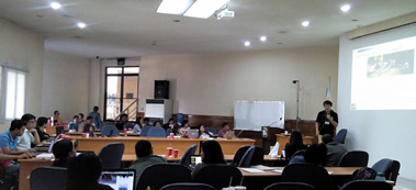 Web accessibility workshop is conducted at DOST-ICT Office Main Training Room.