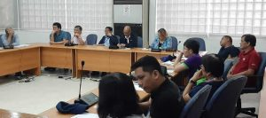 Participants from DICT, National Council on Disability Affairs and other NGOs including PWAG